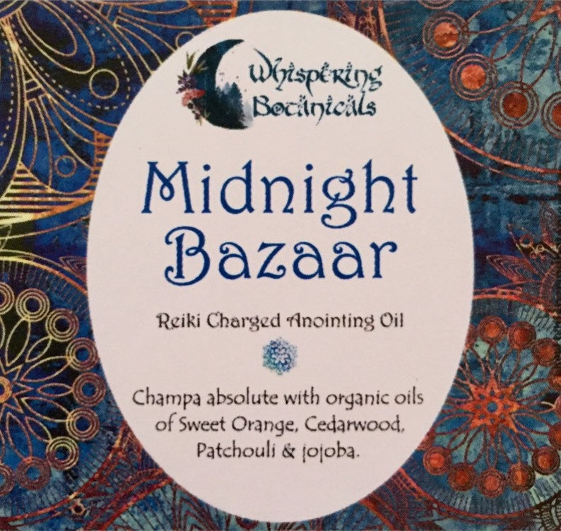 Midnight Bazaar  Natural Perfume  Essential Oils image 0