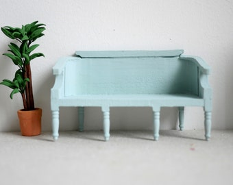 New Dollhouse Metal 2 Seater Chair Modern Outdoor Garden Patio Park Loveseat