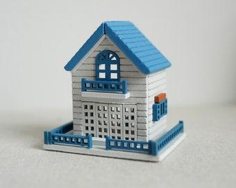 Maison de poupées miniature échelle 1//12th blanc pelle et BROSSE SET