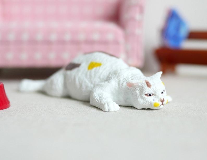 CAT w//2 KITTENS 1:12 Scale Dollhouse Miniature Animal Pet FALCON