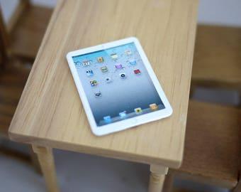 Miniature Dollhouse iPad 1:6 scale iPad, Dollhouse miniature iPad