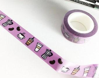 Coffee Washi Tape