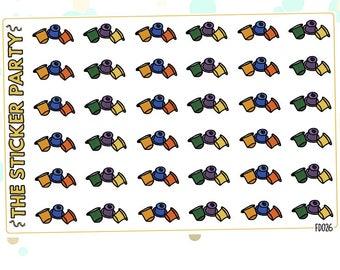 Coffee Pods Planner Stickers Nespresso Planner Stickers