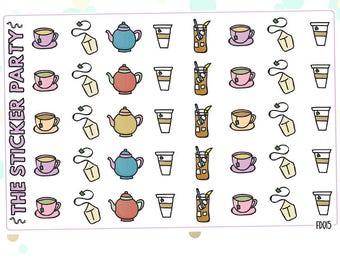 Tea Planner Stickers