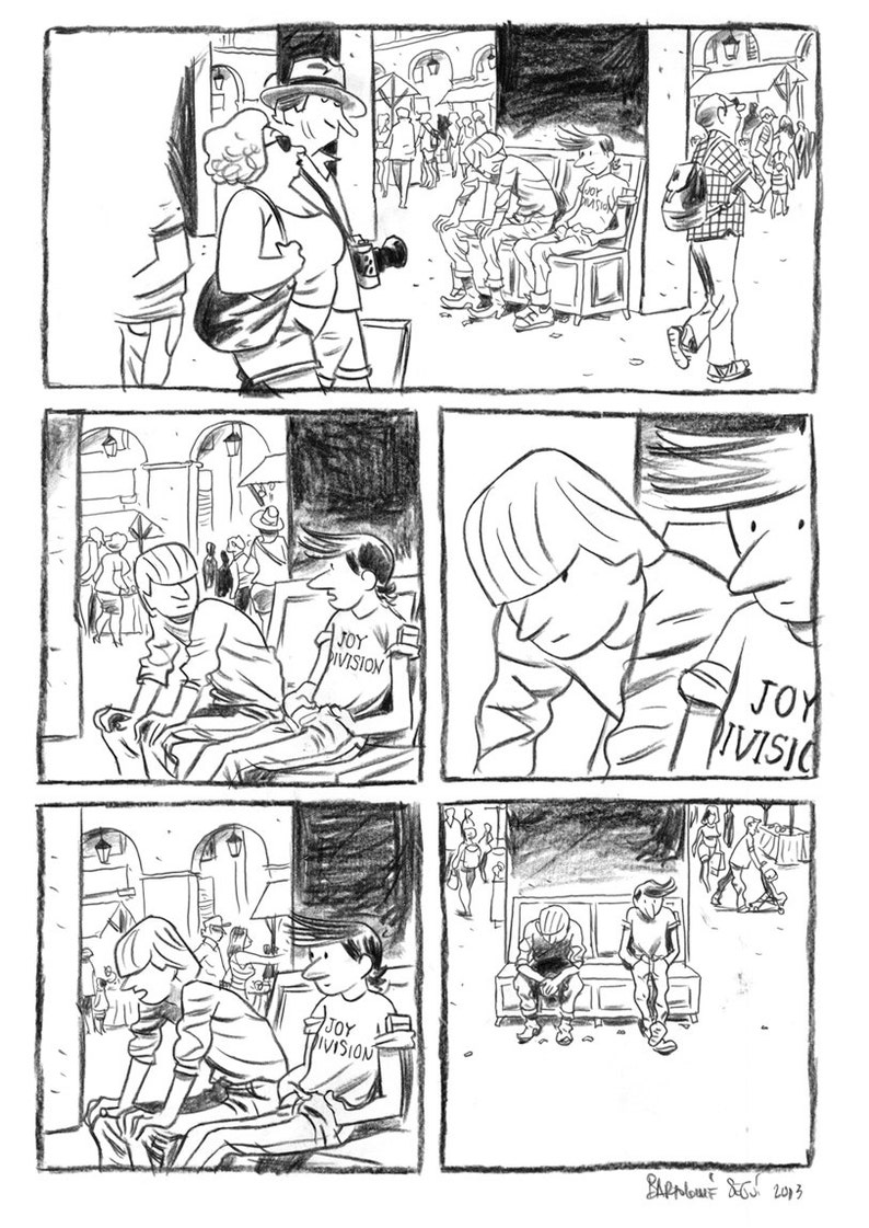 Original NEIGHBORHOOD STORIES. Roads. Page 17 image 0