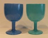 Set of 2 - Vintage Blue G...