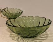 Green Shell Swirl Chip an...
