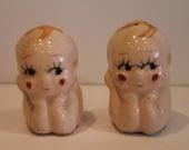 Kewpie Doll Salt and Pepp...