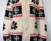 Vintage Cowichan Sweater ...