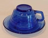 Set of 2 Hazel Atlas Tea ...