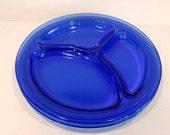 Set of 2 1930s Cobal Blue...