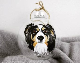 Custom ornament, custom christmas ornamemt, custom dog ornament, custom cat ornamemt, ONE PET, custom christmas bulb, custom pet ornament