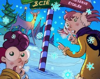 Children's comic Titi Krapouti et cie 3 The Star Reserve