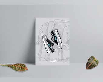 24030c3918ad Framed Nike Air Max 1 X Atmos