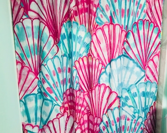 Lilly Pulitzer oh Shello Shower Curtain 75c934ce2840