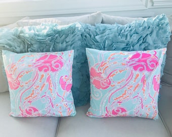 a8cf4e37624200 Lilly Pulitzer Jellies be Jammin pillow cover set