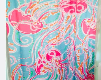 d205215e8c3030 Lilly Pulitzer Jellies Be Jammin Shower Curtain