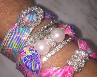 Summer Fun Exotic Garden Bracelet Set