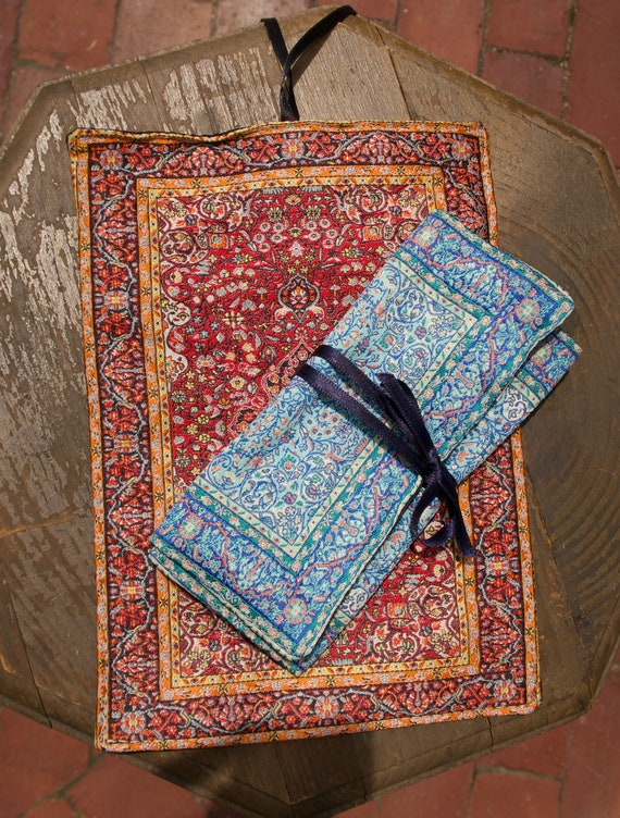 Handcrafted Turkish Jewelry Roll by Derin