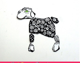 Sheep - Artistic magnets