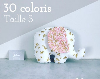 Pillow elephant custom - size S - 30 colors to choose from-birthday gift custom
