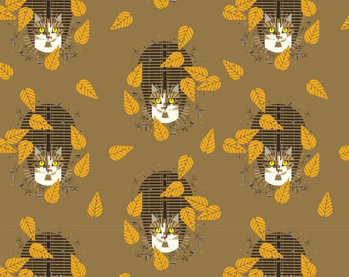 Bird Watcher Organic Cotton Quilt Weight Poplin by the Half Yard from Birch Fabrics by Mid Century Modern Artist Charley Harper