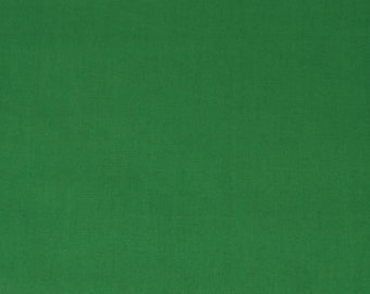 Clover Green Organic Quilt Weight Poplin Solid Fabric by the Yard Birch Fabrics