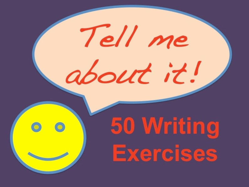 Printable Ebook for Writers Tell Me About It 50 Exercises in image 0