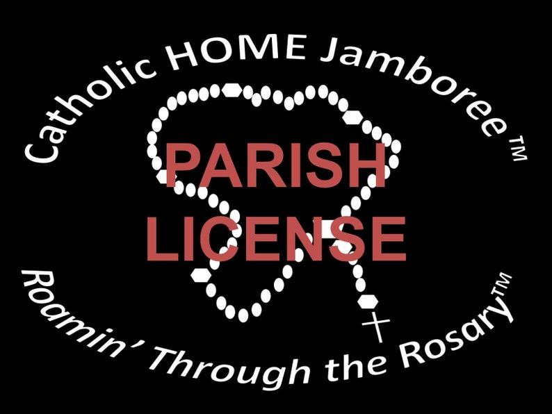 Parish License for Roamin' Through the Rosary Catholic image 0