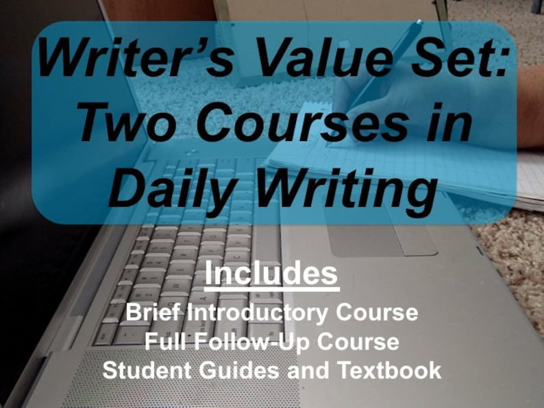 Two Self Paced Courses on Daily Writing with Creative Prompts image 0