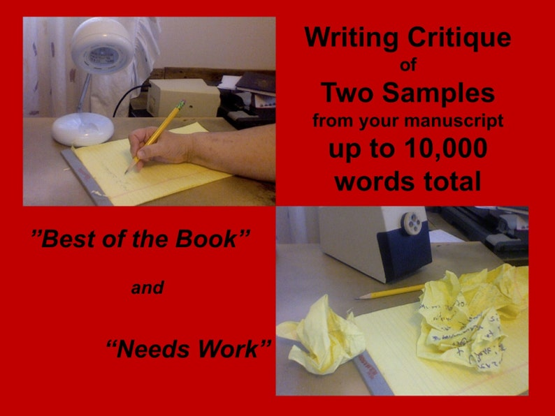 Book Manuscript Critique Based on Strongest and Weakest image 0