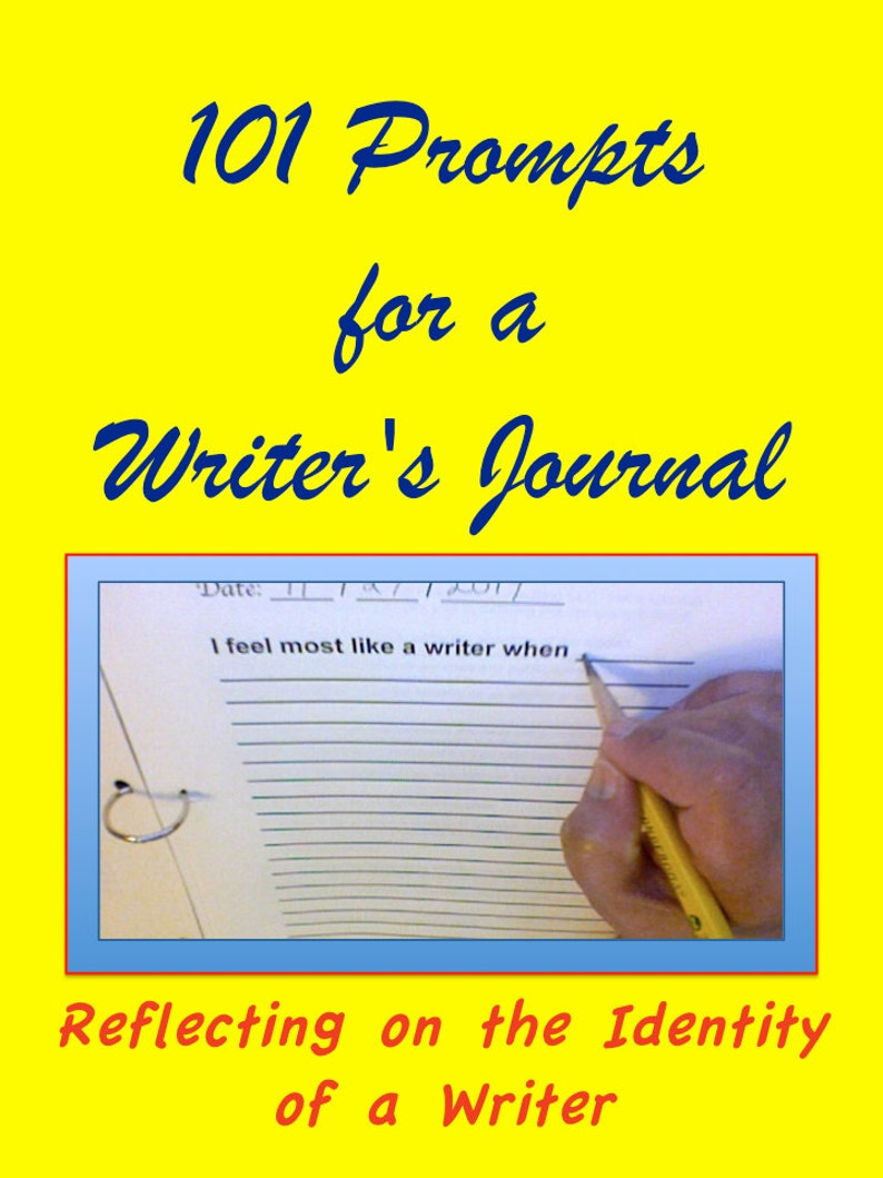 Printable Journal Pages with Creative Writing Prompts for image 0