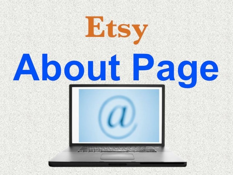 Ghostwritten About Page or Seller Profile Page Text for Etsy image 0