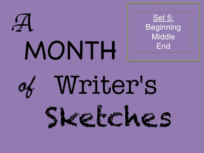 Thirty Printable Daily Creative Writing Exercises for Author image 0