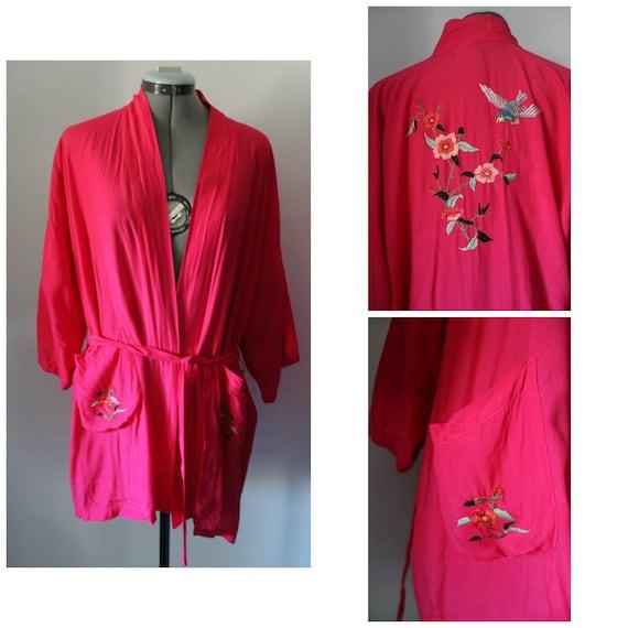 Vintage embroidered Kimono,Vintage Kimono, Kimono,