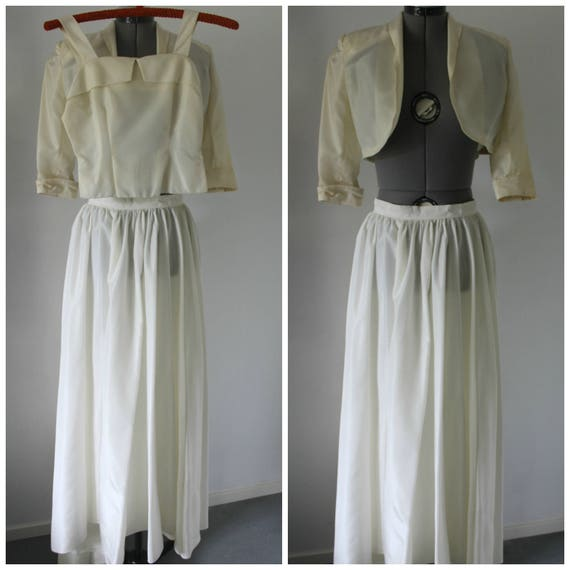 Vintage 1940s Three Piece set Women, Vintage 1940s