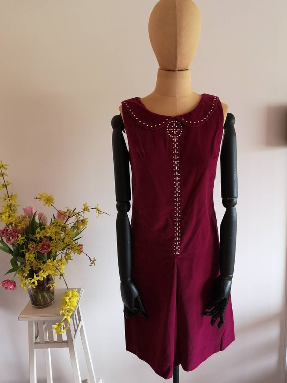 Vintage 1960s dress women, 1960s dress, 60s dress,