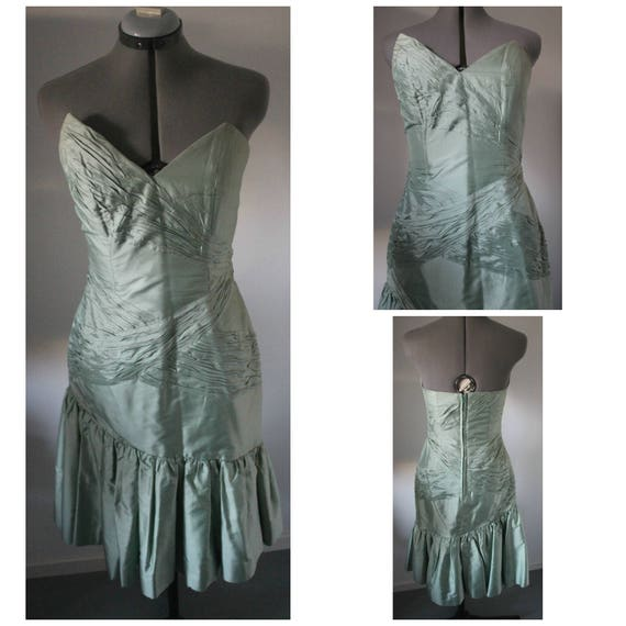 Vintage 1960s Cocktail Dress Women