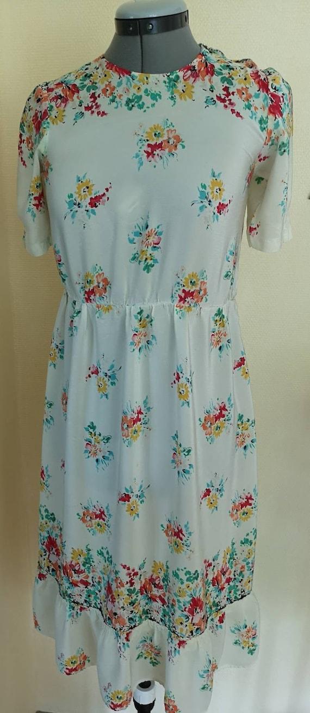 Vintage 1940s dress women, 1940s dress, 40s dress,