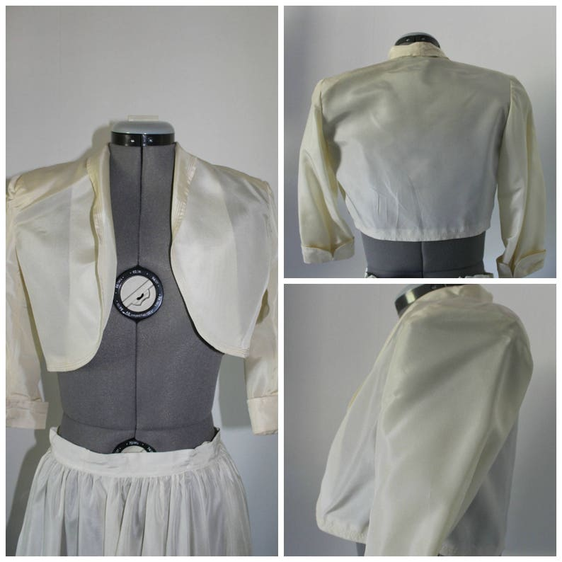 small xsmall 1940s skirt Vintage 1940s Three Piece set Women silk 1940s 1940s top 1940s jacket Vintage 1940s Dress wedding
