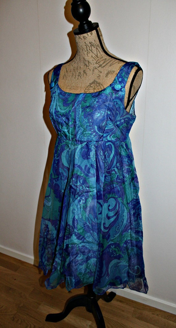 Vintage 1970s dress women, 1970s dress, Psychedeli
