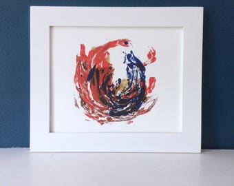 All of the Fire - 8x10 Abstract Print
