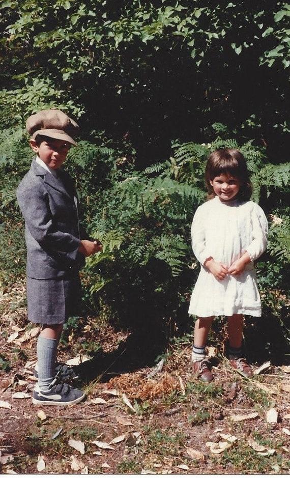 Reproduction Boys 4 piece tweed suit 1910