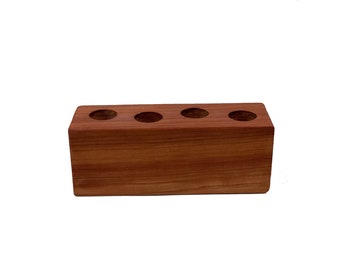 Essential Oil Rollerball Holder with 4 Holes for Essential Oil  5/10ml Rolleballs Bottles.