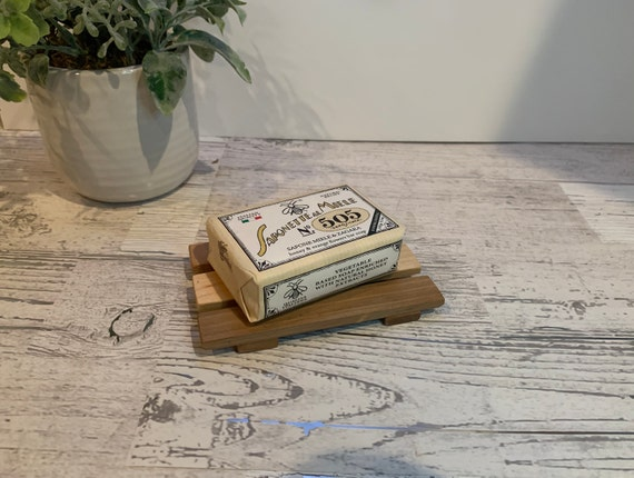 Slotted Soap Dish Handmade from reclaimed woods.
