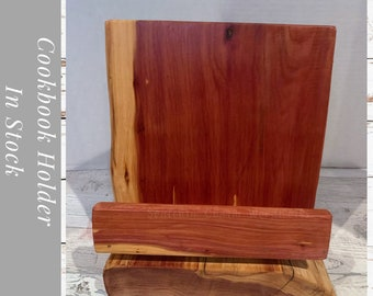 Cookbook Stand | Tablet Stand | Recipe Holder | iPad Stand | Recipe Stand | Cookbook Holder | Book Stand