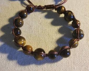 Balance Your Emotions with Tiger Eye Macrame Bracelet
