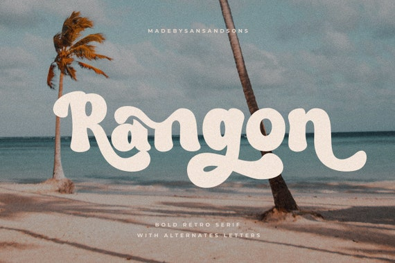 Rangon - Retro Serif Font