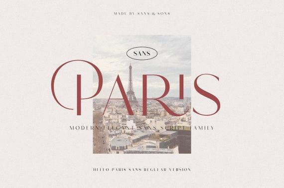 Hello Paris - Modern Elegant Sans