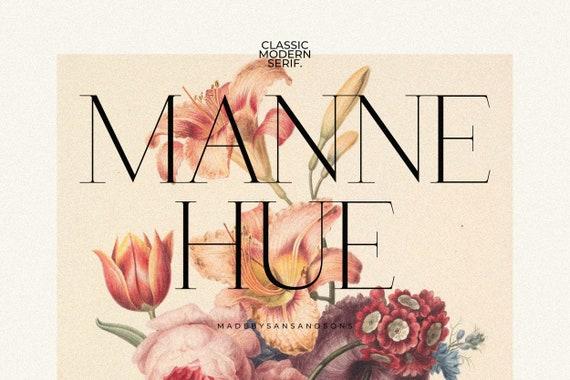 Manne - Classic Font